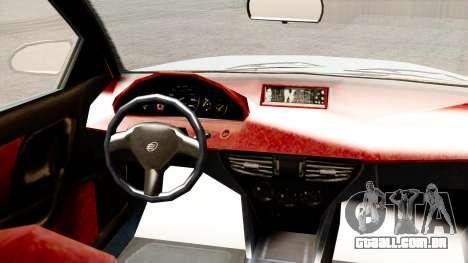 GTA 5 Enus Cognoscenti 55 para GTA San Andreas traseira esquerda vista