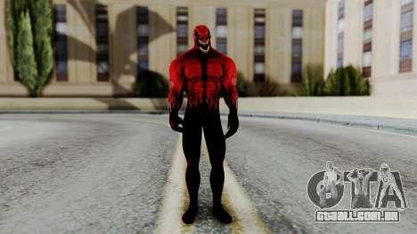 Marvel Heroes - Toxin para GTA San Andreas segunda tela