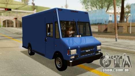 Boxville from GTA 5 para GTA San Andreas