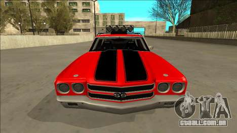 Chevrolet Chevelle Rusty Rebel para GTA San Andreas vista superior