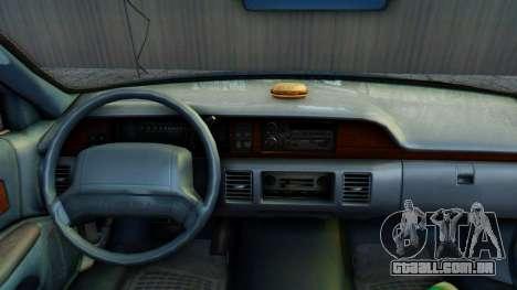 Chevrolet Caprice 1993 para GTA San Andreas vista traseira