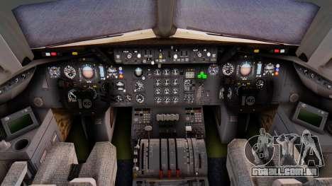 McDonnell-Douglas DC-10-30 Saudia para GTA San Andreas traseira esquerda vista