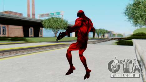 The Amazing Spider-Man 2 Game - Carnage para GTA San Andreas terceira tela