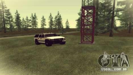 Chevrolet Suburban Offroad Final Version para GTA San Andreas esquerda vista