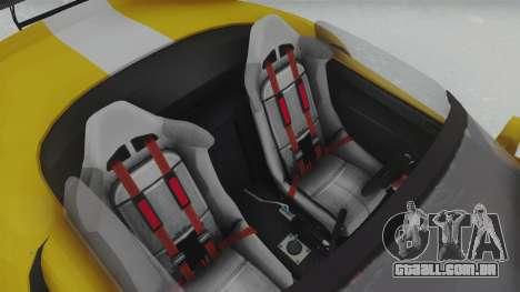 GTA 5 Bravado Banshee 900R Tuned para GTA San Andreas vista traseira