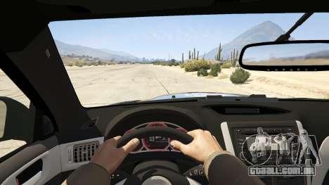 GTA 5 LAPD Subaru Impreza WRX STI voltar vista