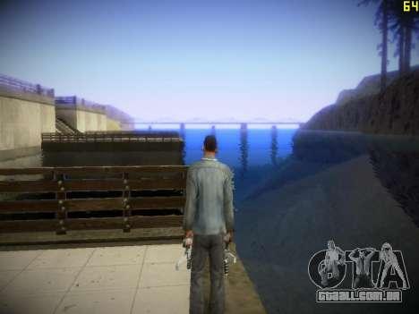 A seguir ENB V1.4 para baixo PC para GTA San Andreas sexta tela