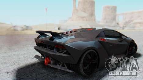 Lamborghini Sesto Elemento 2010 para GTA San Andreas esquerda vista