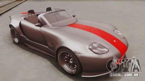 GTA 5 Bravado Banshee 900R Carbon IVF para GTA San Andreas vista direita