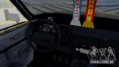 Peykan 80 Spyder para GTA San Andreas vista interior