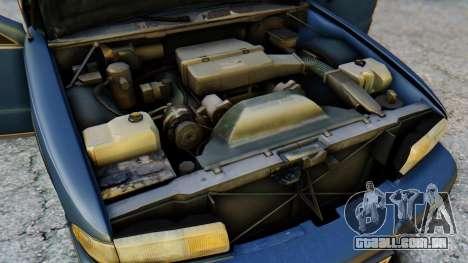 Chevrolet Caprice 1993 para vista lateral GTA San Andreas