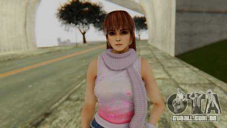 Kasumi Scarf para GTA San Andreas