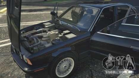 GTA 5 BMW 535i E34 frente vista lateral direita