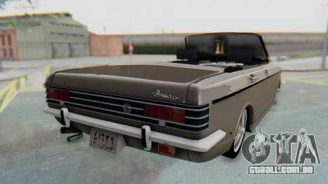 Peykan 80 Spyder para GTA San Andreas esquerda vista