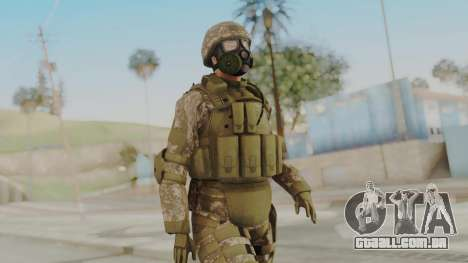 US Army Urban Soldier Gas Mask from Alpha Protoc para GTA San Andreas