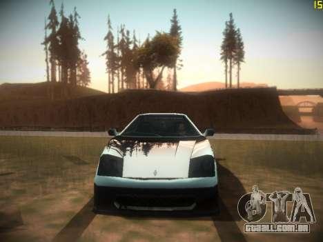 A seguir ENB V1.0 por meio do PC para GTA San Andreas quinto tela