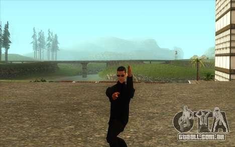 Visita De Wu Zi Mu para GTA San Andreas terceira tela