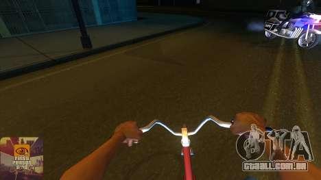A primeira pessoa v3.0 para GTA San Andreas quinto tela