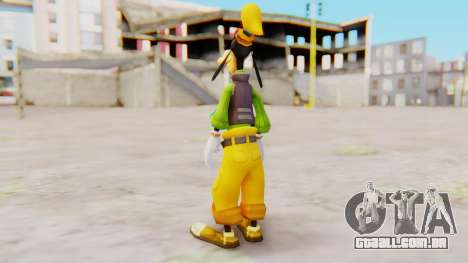 Kingdom Hearts 2 Goofy Default para GTA San Andreas terceira tela