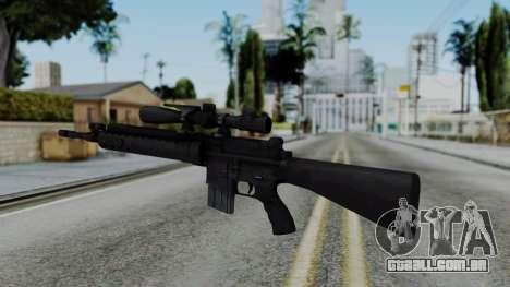 Arma AA MK12 SPR para GTA San Andreas segunda tela