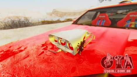 Virgo v2.0 para GTA San Andreas vista traseira