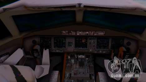 Boeing 777-9x British Airways para GTA San Andreas traseira esquerda vista
