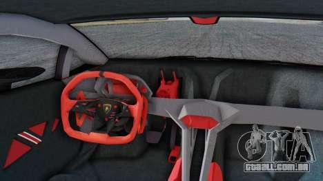 Lamborghini Sesto Elemento 2010 para GTA San Andreas vista traseira