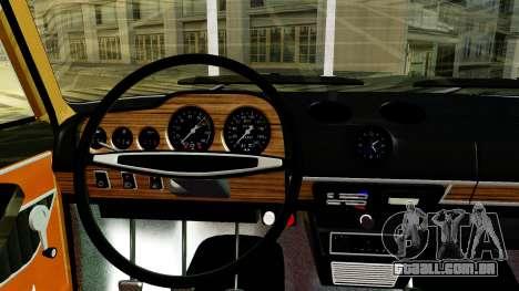 VAZ 2103 para GTA San Andreas vista interior