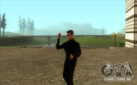 Visita De Wu Zi Mu para GTA San Andreas segunda tela