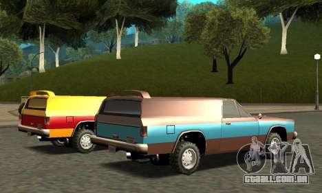 Picador Vagon Extreme para o motor de GTA San Andreas