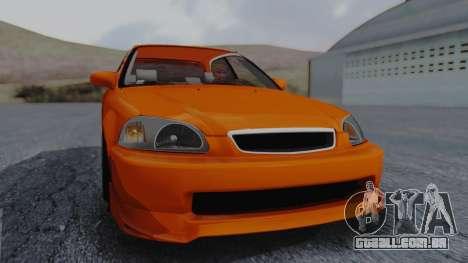 Honda Civic EG Ferio para GTA San Andreas vista direita