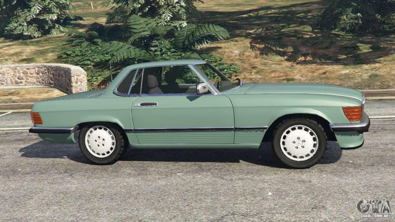 MercedesBenz 350 SL (R107) para GTA 5