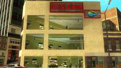 O renascimento da concessionária de carros Ottos autos para GTA San Andreas