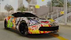 Chevrolet Corvette Stingray C7 2014 Sticker Bomb para GTA San Andreas