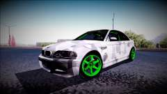 BMW M3 E46 Drift Monster Energy
