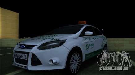 Ford Focus Táxi Tartaristão para GTA San Andreas
