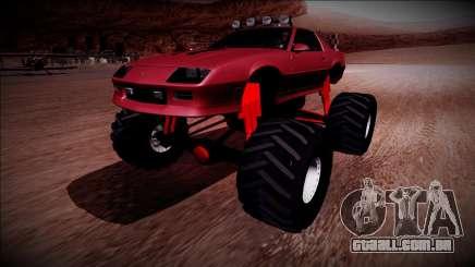 1990 Chevrolet Camaro IROC-Z Monster Truck para GTA San Andreas