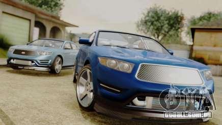 GTA 5 Vapid Greenwood para GTA San Andreas