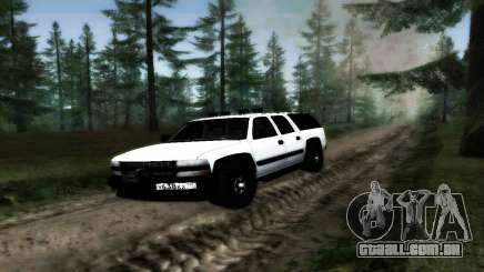 Chevrolet Suburban Offroad Final Version para GTA San Andreas