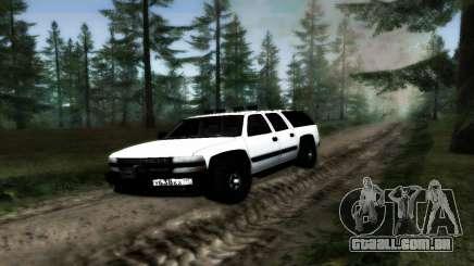 Chevrolet Suburban Offroad Final Version para GTA San Andreas