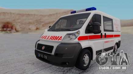 Fiat Ducato Turkish Ambulance para GTA San Andreas