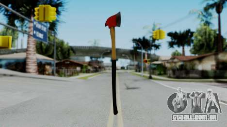 No More Room in Hell - Fire Axe para GTA San Andreas segunda tela