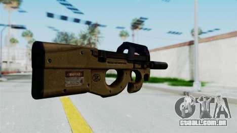 P90 Sand Frame para GTA San Andreas segunda tela