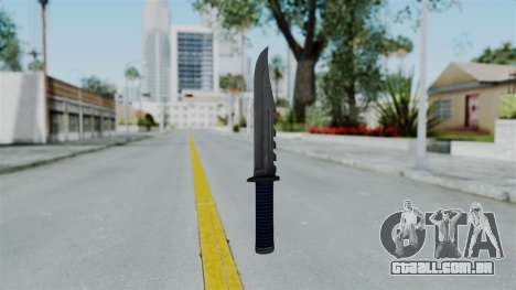 GTA 5 Knife para GTA San Andreas