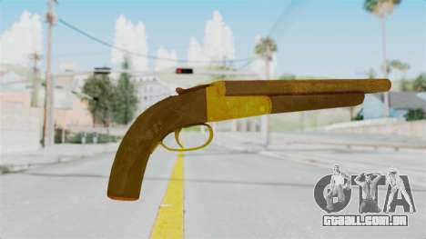 Double Barrel Shotgun Gold Tint (Lowriders CC) para GTA San Andreas segunda tela