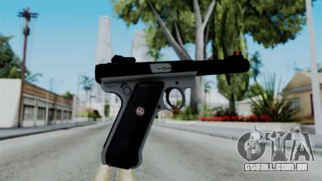 No More Room in Hell - Ruger Mark III para GTA San Andreas segunda tela