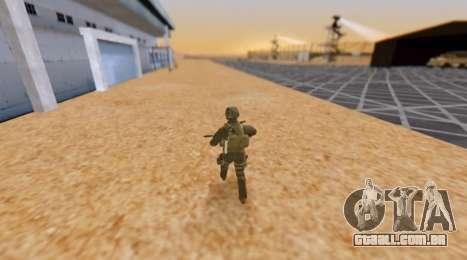 Exército hora para GTA San Andreas