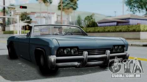 Blade Beach Bug para GTA San Andreas traseira esquerda vista