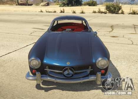 GTA 5 1954 Mercedes-Benz 300 SL Gullwing 1.0 vista lateral esquerda