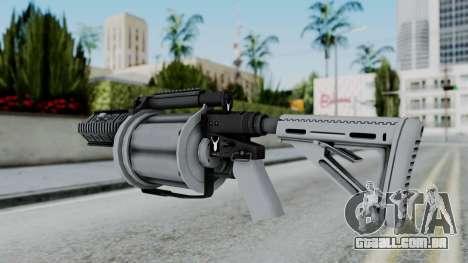 GTA 5 Grenade Launcher - Misterix 4 Weapons para GTA San Andreas segunda tela